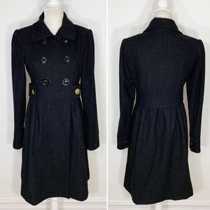 Anthropologie Nick & Mo speckled peacoat